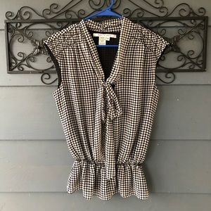 Max Studio Blouse with Bow Detail